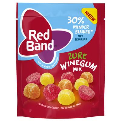 Red Band Zure winegummix