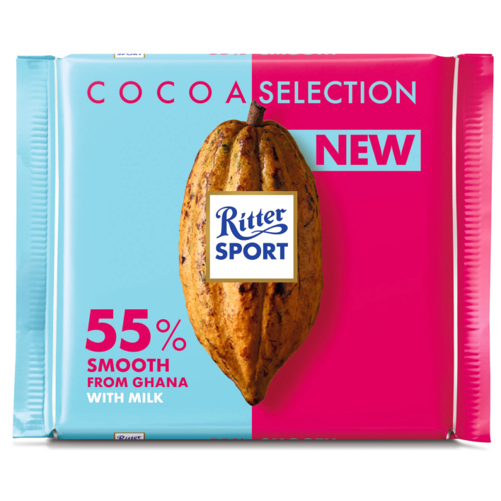 Ritter Sport Cacao selection  55% Ghana mild