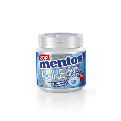 Mentos Gum Pure frost strong peppermint