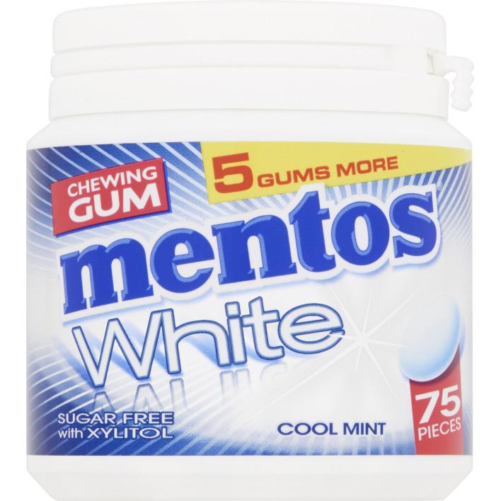 Mentos Gum White cool mint