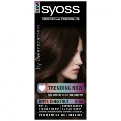 Syoss Color 50ml 3-86 onyx chestnut bnl