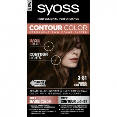 Syoss Contour color 3-81 50ml dark brown bnl