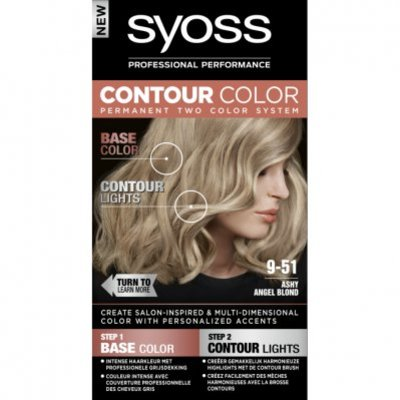 Syoss Contour color 9-51 50ml ashy blond bnl