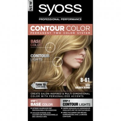 Syoss Contour color 8-61 diva golden brown bnl