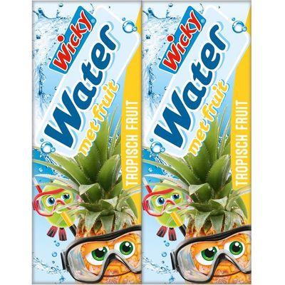 Wicky Water tropisch fruit 10-pack