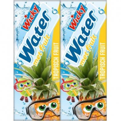 Wicky Water tropisch fruit 10-pack