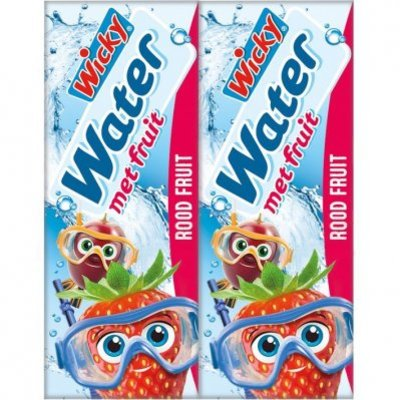 Wicky Water rood fruit 10-pack