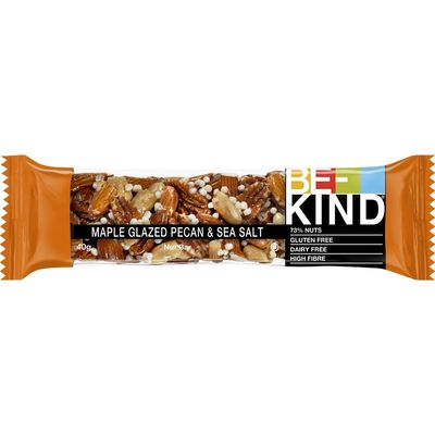 Be Kind Maple glazed pecan & sea salt bar