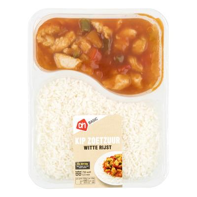 Budget Huismerk Kip zoetzuur met witte rijst