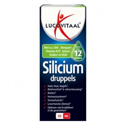 Lucovitaal Silicium druppels