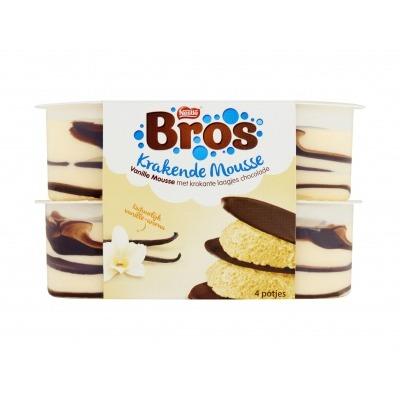 Bros Krakende mousse vanille