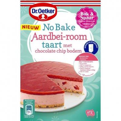 Dr. Oetker No bake aardbei room
