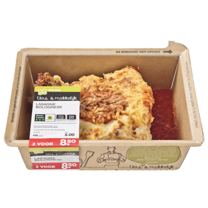 Huismerk Lasagne bolognese