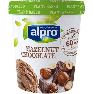 Alpro IJs hazelnut and chocolat