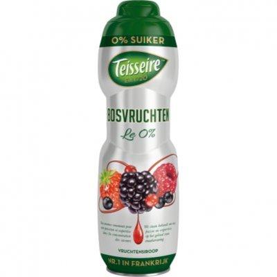 Teisseire Vruchtensiroop bosvruchten 0% suiker