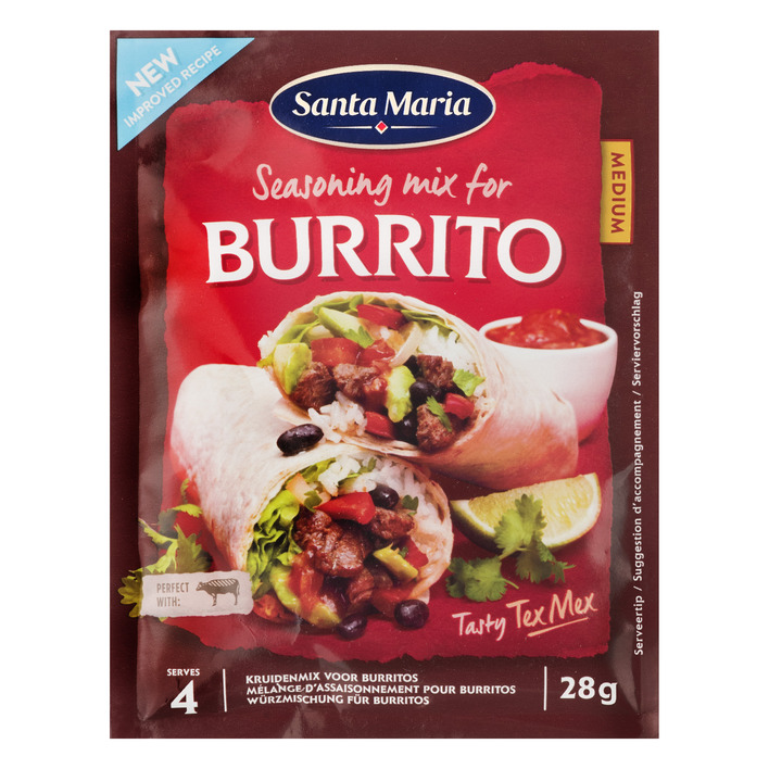Santa Maria Burrito seasoning mix