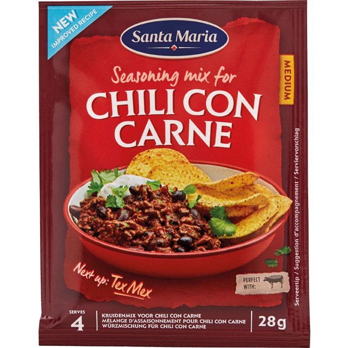 Santa Maria Chili con carne season mix