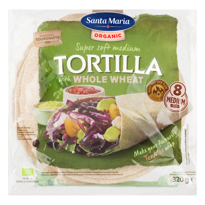 Santa Maria Whole wheat tortilla