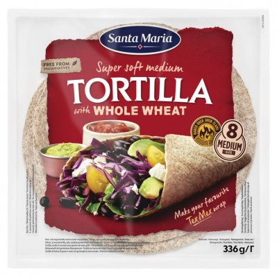 Santa Maria Tortilla whole wheat
