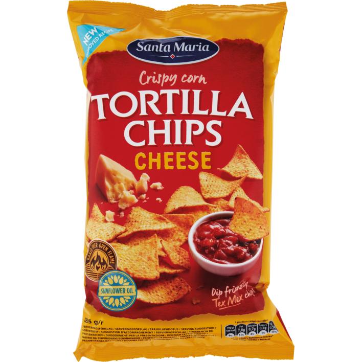 Santa Maria Tortilla chips cheese