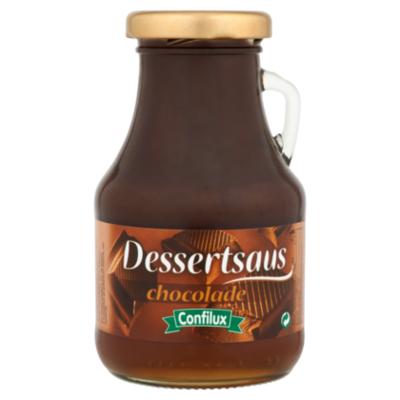 Confilux dessertsaus chocolade