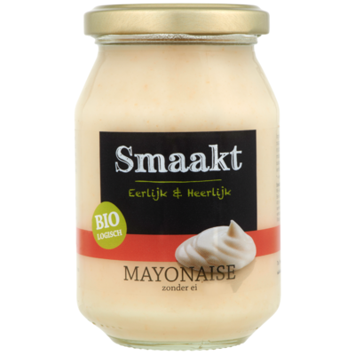 Smaakt Biologisch Mayonaise Zonder Ei