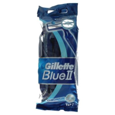 Gillette BlueII Plus Wegwerpmesjes Voor Mannen x10