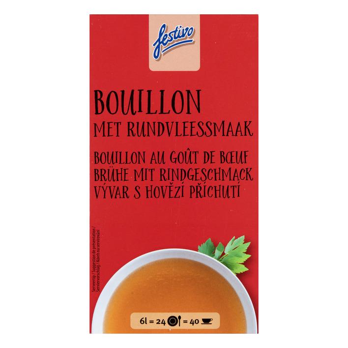 Festivo Bouillon blokjes vlees smaak