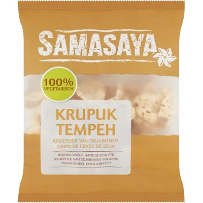 Samasaya Kroepoek met tempeh