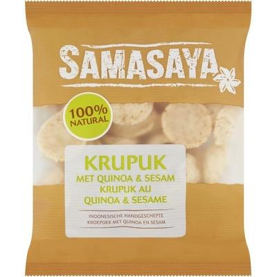 Samasaya Kroepoek met quinoa en sesam
