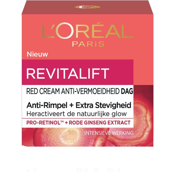 L'Oréal Revitalift red cream