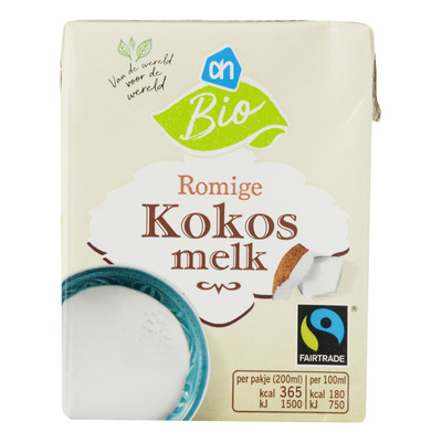 Huismerk Kokosmelk bio fairtrade