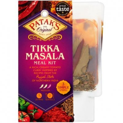 Patak's 3-step Tikka massala kit