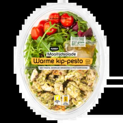 Huismerk Maaltijdsalade Warme Kip-Pesto