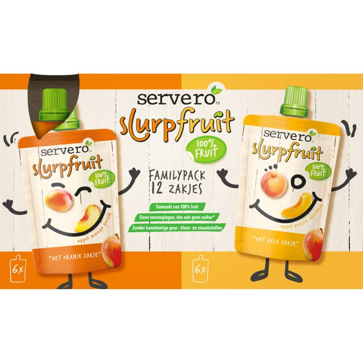 Servero Slurpfruit familypack