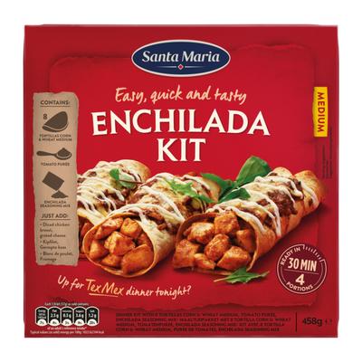 Santa Maria Dinner kit enchilada