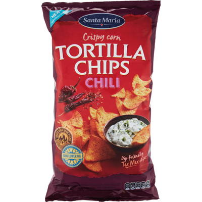 Santa Maria Tortilla chips chili