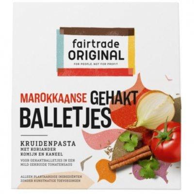 Fairtrade Original Marokkaanse gehaktballetjes paste