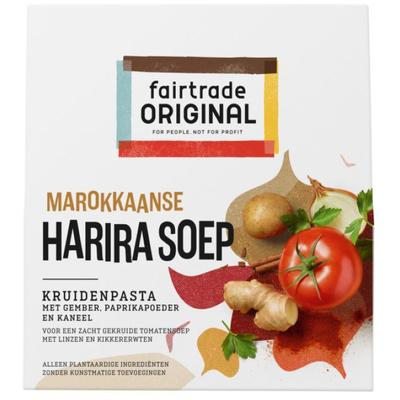 Fairtrade Original Marokkaanse harira soep paste