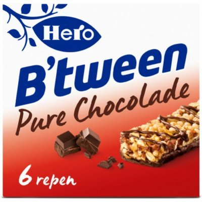 Hero B'tween granenreep pure chocolade