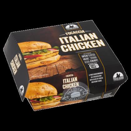 Texas James Foccia Italian Chicken