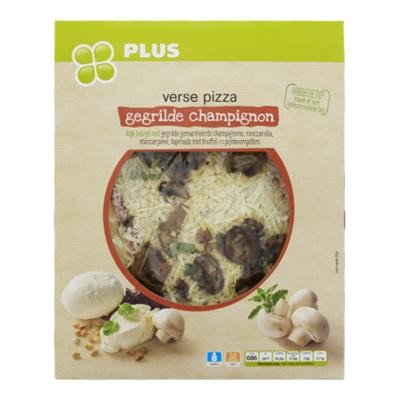 Huismerk Pizza gegrilde champignons