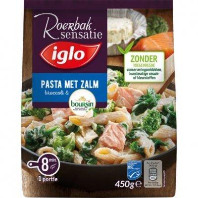 Iglo Roerbak pasta met zalm