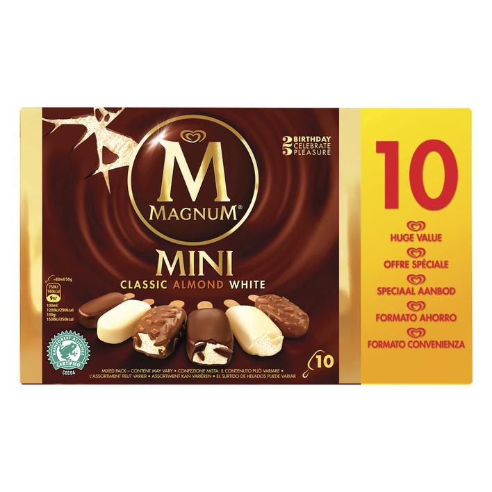 Magnum IJs classic almond white