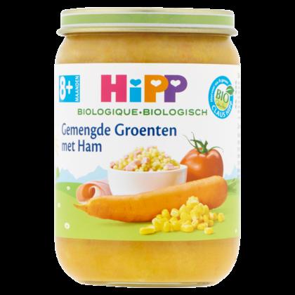 HiPP 8+ Gemengde groenten ham biologisch