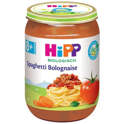 Hipp Spaghetti bolognese biologisch 8 maanden