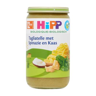 HiPP Biologisch Tagliatelle met Spinazie en Kaas 12+ Maanden