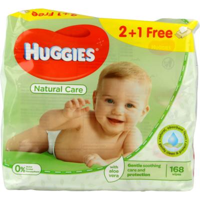 Huggies Babydoekjes natural care