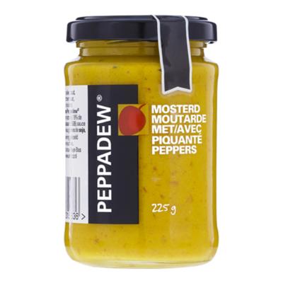 Peppadew Mosterd met piquanté peppers
