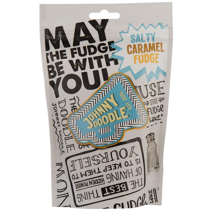 Johnny Doodle Salted caramel fudge